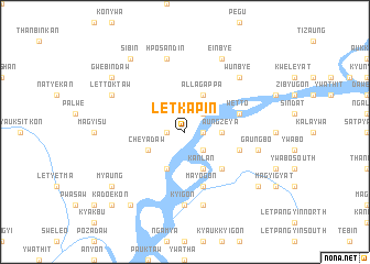 map of Letkapin