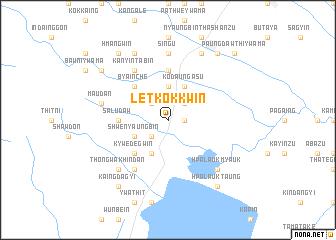 map of Letkokkwin