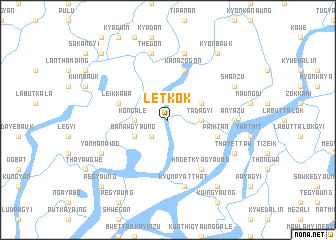 map of Letkok