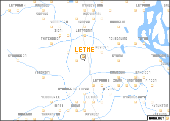 map of Letme
