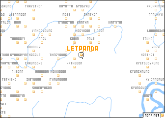 map of Letpanda