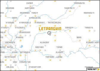 map of Letpangwin