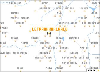 map of Letpanhkahla Ale