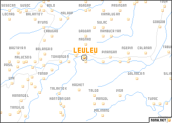 map of Leuleu