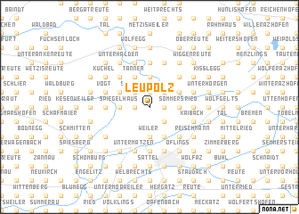 map of Leupolz