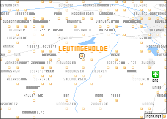map of Leutingewolde