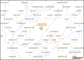 map of Le-uzu