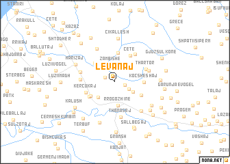 map of (( Levanaj ))