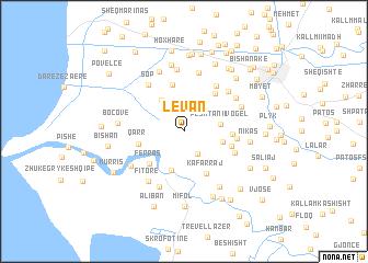 map of Levan