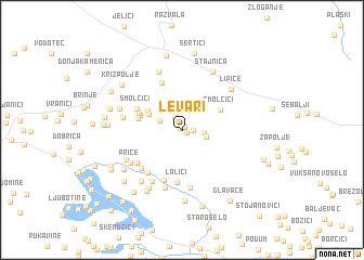 map of Levari