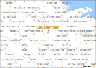 map of Levenhagen
