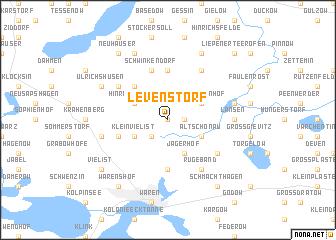 map of Levenstorf