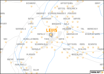 map of Levis