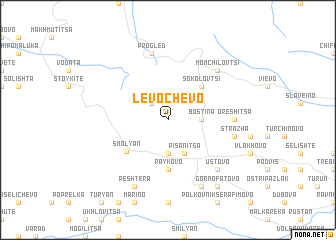 map of Levochevo