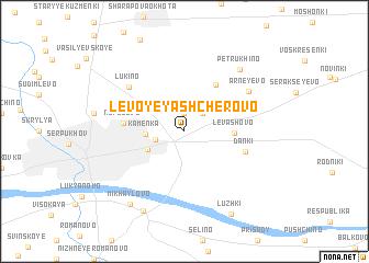 map of Levoye Yashcherovo