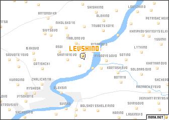 map of Levshino