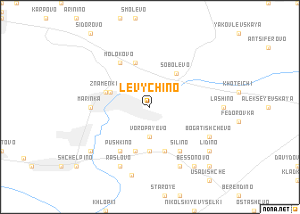 map of Levychino