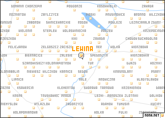 map of Lewina