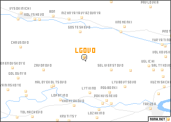 map of L\