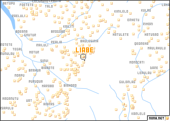 map of Liabe