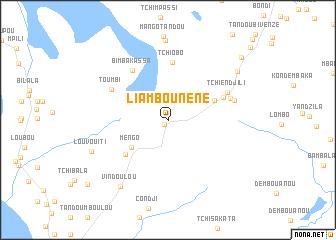 map of Liambou-Néné