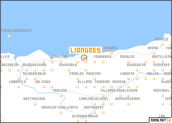 map of Liandres