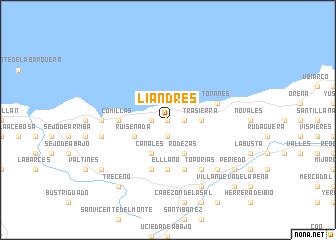 map of Liandres