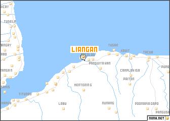map of Liangan