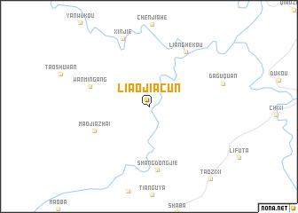 map of Liaojiacun