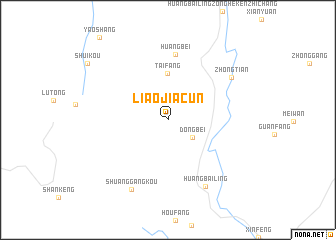 map of Liaojiacun