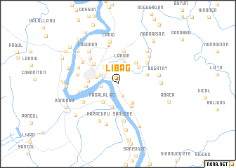 map of Libag