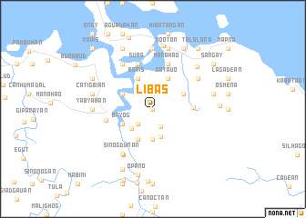 map of Libas