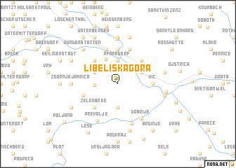 map of Libeliška Gora