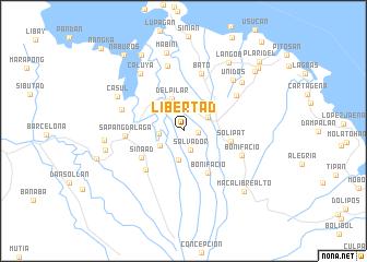 map of Libertad