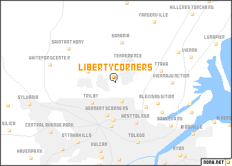map of Liberty Corners