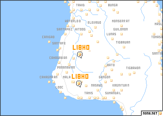 map of Libho