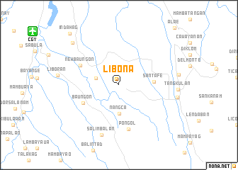 Libona Philippines Map Nona Net
