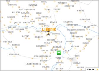map of Libonik