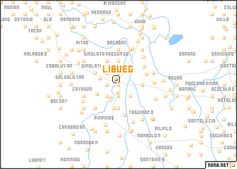 map of Libueg