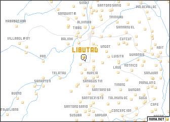 map of Libutad