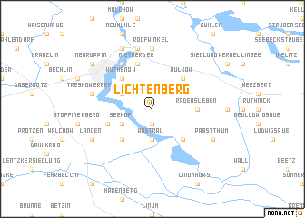 map of Lichtenberg