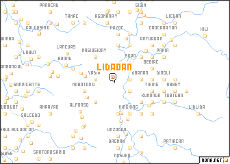 map of Lidaoan