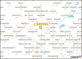 map of Liebenau