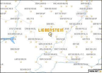 map of Liebenstein