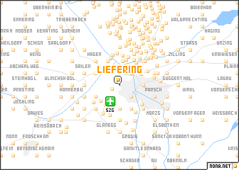 map of Liefering