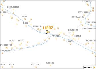 map of Lienz