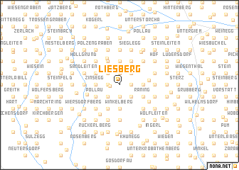map of Liesberg