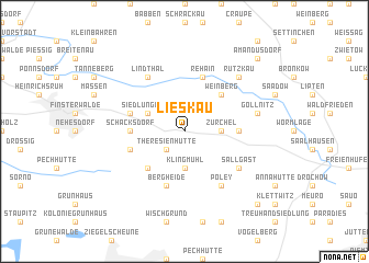 map of Lieskau