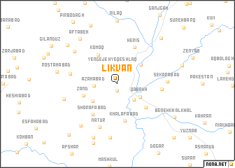 map of Līkvān