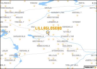 map of Lilla Glosebo